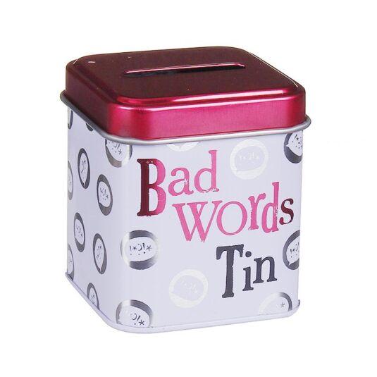 'Bad Words' Mini Cash Stash Tin