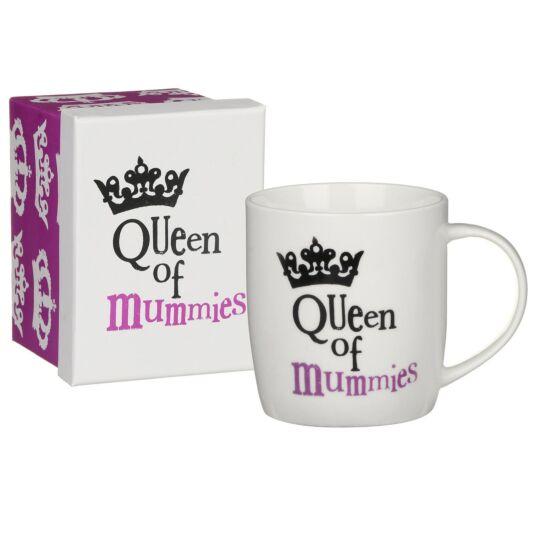 'Queen of Mummies' Boxed Mug