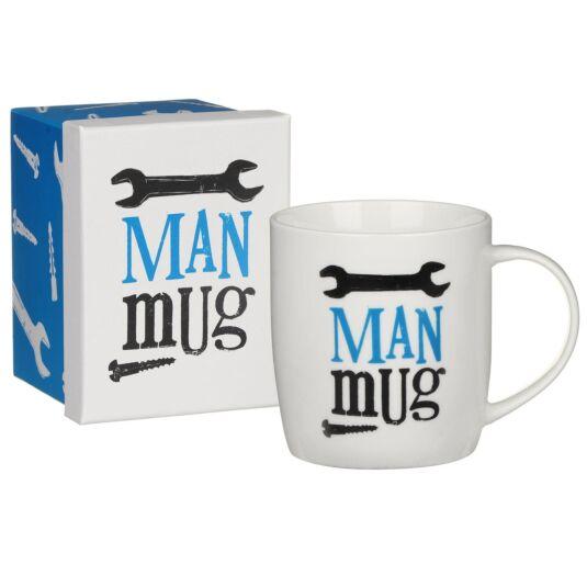 Boxed 'Man' Mug