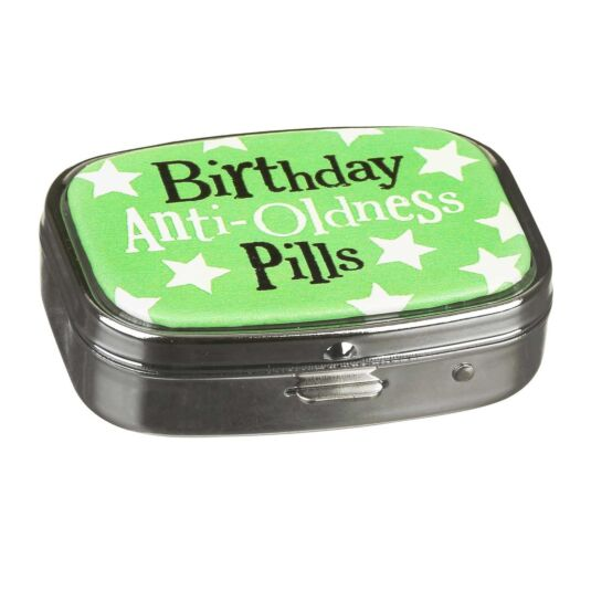 Anti-Oldness Pill Box