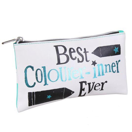 'Best Colourer-Inner Ever' Pencil Case
