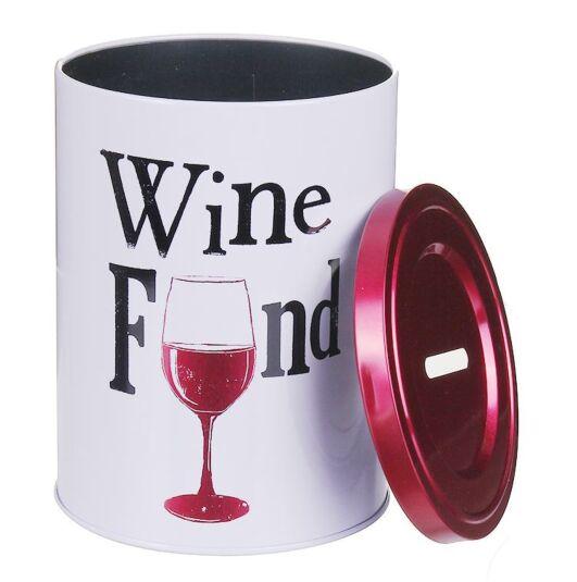 'Wine Fund' Tin