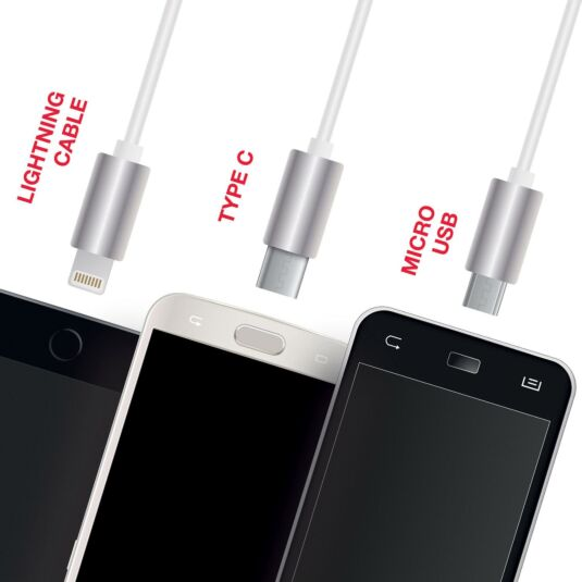 Red5 3-in-1 Charging Lead