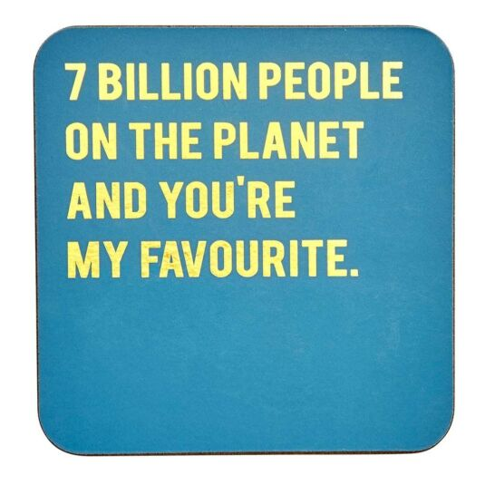 Cloud Nine '7 Billion People' Coaster