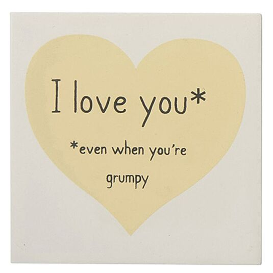 I Love You – Grumpy Magnet