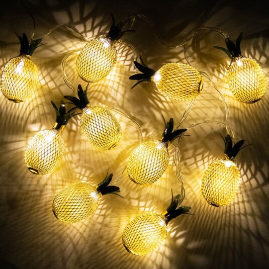 LED Pineapple String Light