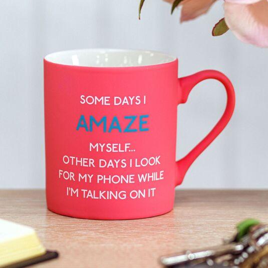 'Amaze Myself' Mug
