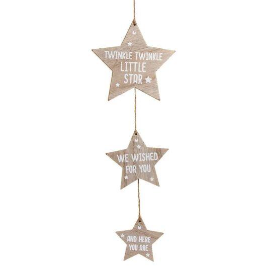 Newborn Baby Triple Star Sign