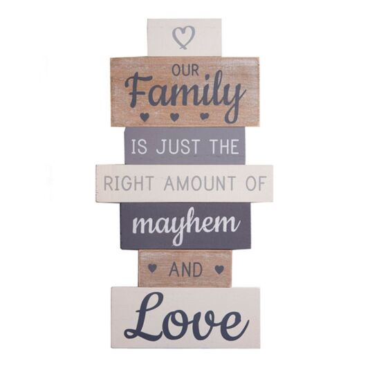 'Our Family' Sign