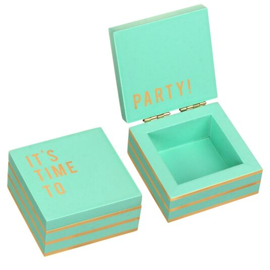 Cloud Nine 'It's Time To Party' Small Secret Message Box