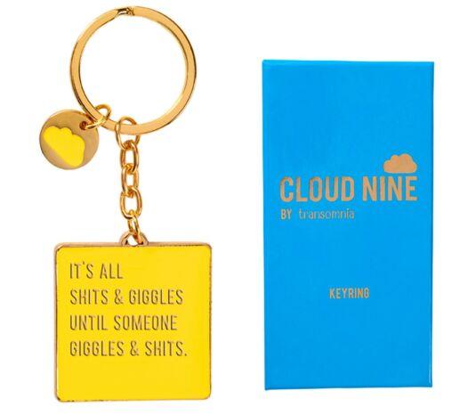 Cloud Nine 'Sh*ts & Giggles' Keyring
