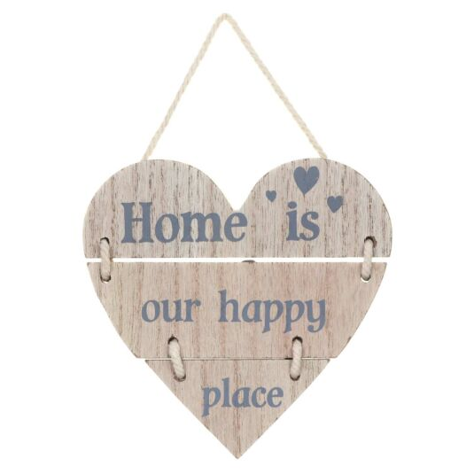 'Home Is Our Happy Place' Sign