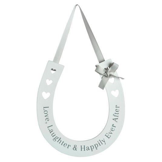 Wedding Horseshoe Sign