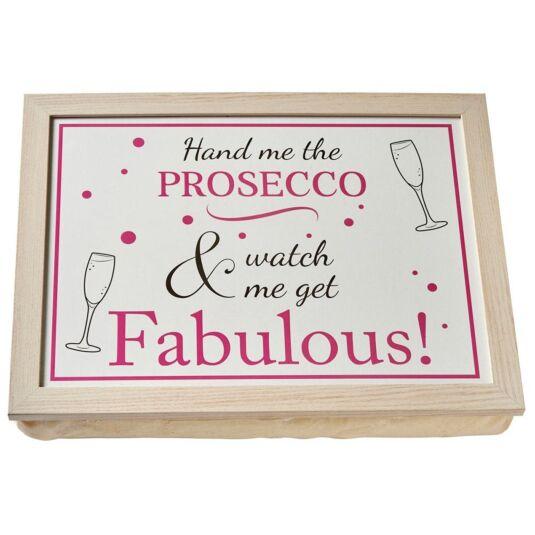 Prosecco Lap Tray