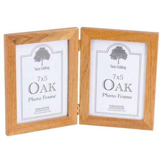 Oak Twin Folding 7x5 Frame