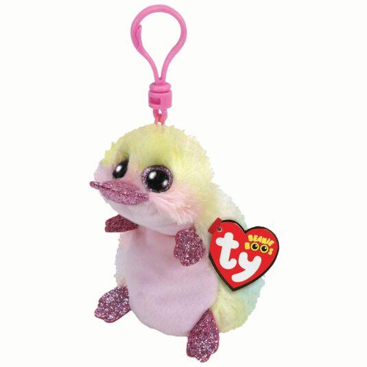 Petunia Beanie Boo Key Clip