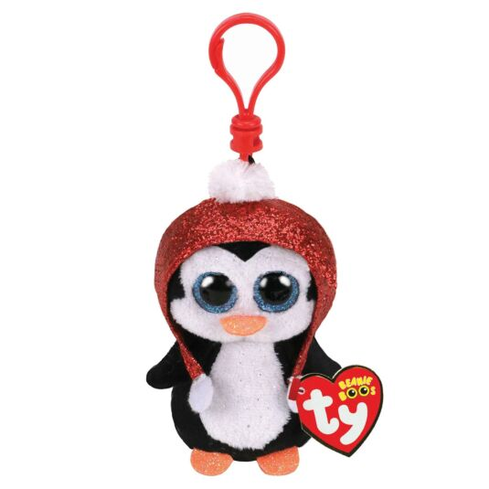 Gale – Christmas Beanie Boo Key Clip