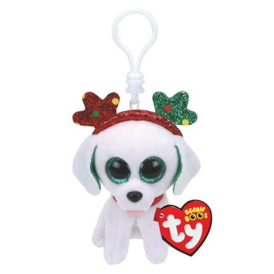 Sugar – Christmas Beanie Boo Key Clip