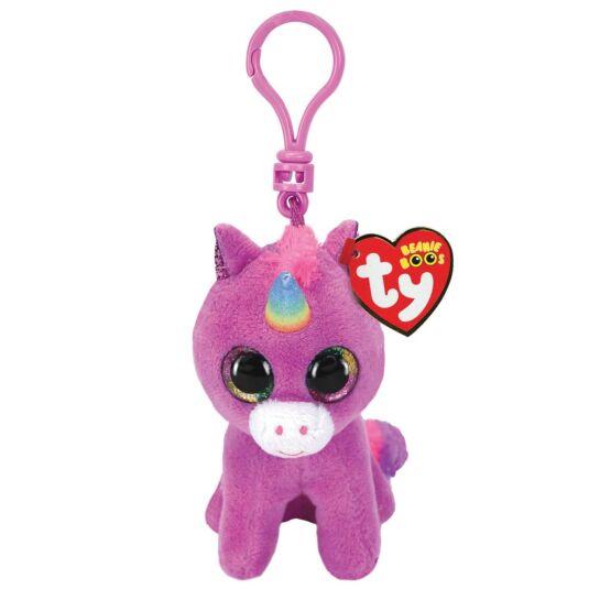 Rosette Beanie Boo Key Clip