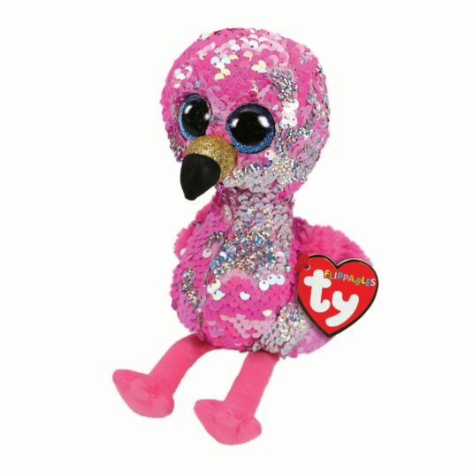 Pinky – Small Sequin Flippable Boo