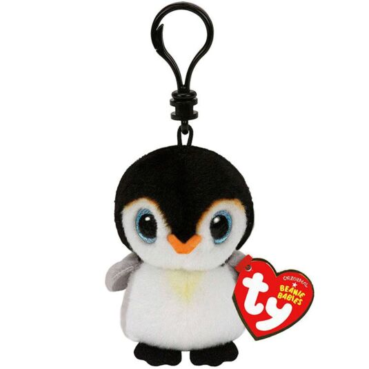 Pongo Beanie Baby Key Clip