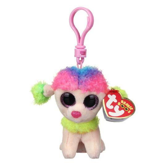 Rainbow Beanie Boo Key Clip