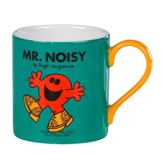 Mr Noisy Green Boxed Mug