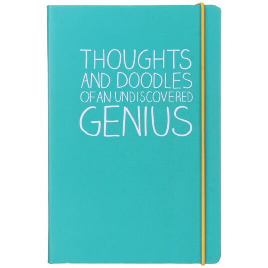 Thoughts And Doodles A5 Notebook