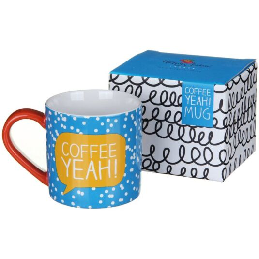 Coffee Yeah! Boxed Mug
