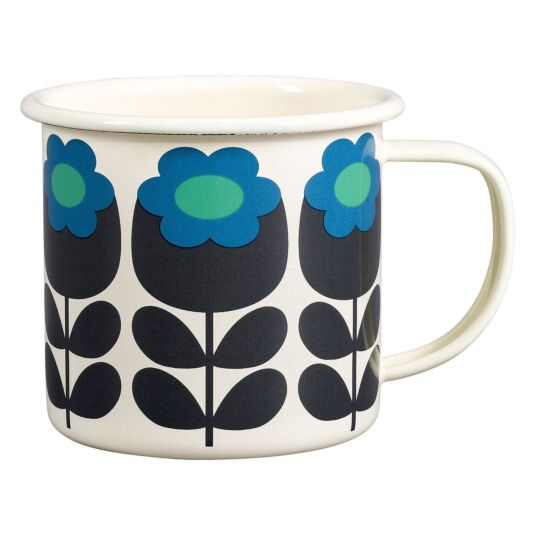 Primrose Emerald Enamel Mug