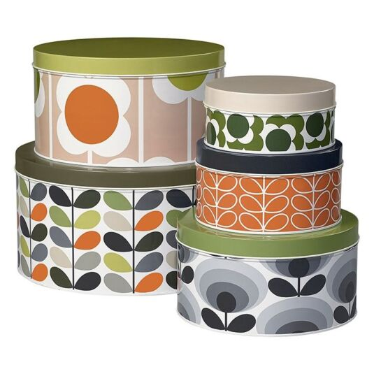 Stem Set of 5 Cake Tins