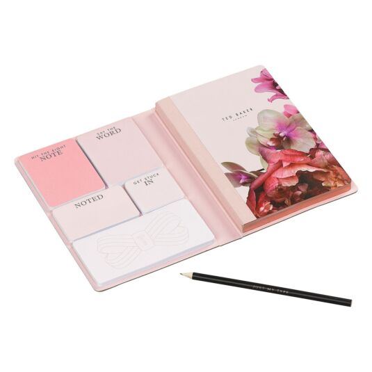 Splendour A5 Notebook with Sticky Notes