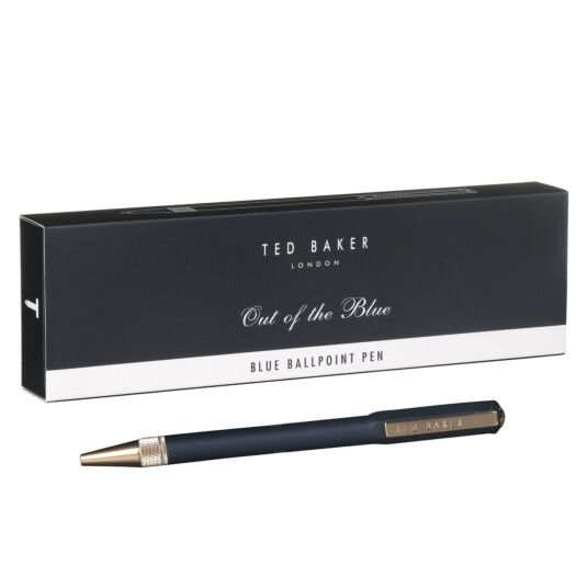 Ted's World Premium Blue Ballpoint Pen