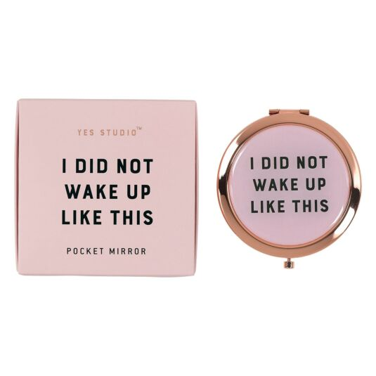 Yes Studio 'I Did Not' Compact Mirror