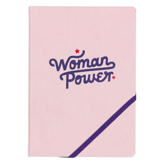 'Woman Power' A5 Notebook