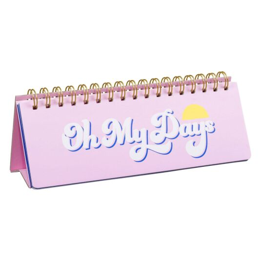 Yes Studio 'Oh My Days' Weekly Desk Planner
