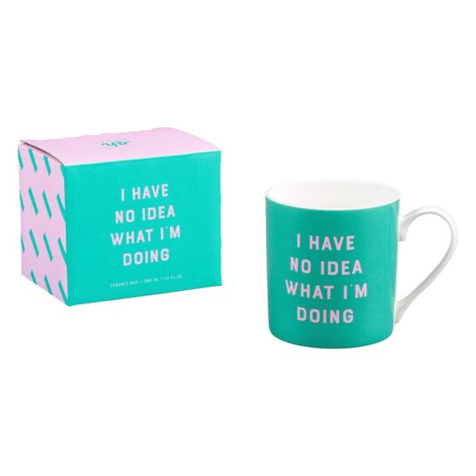 Yes Studio 'I Have No Idea What I'm Doing' Ceramic Mug