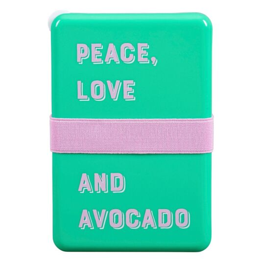 Yes Studio 'Peace, Love and Avocado' Lunch Box