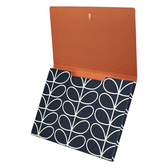 Linear Stem Navy A4 Document Holder