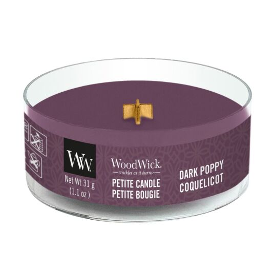 Dark Poppy Petite Candle