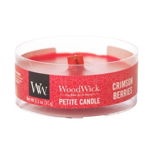 Crimson Berries Petite Candle