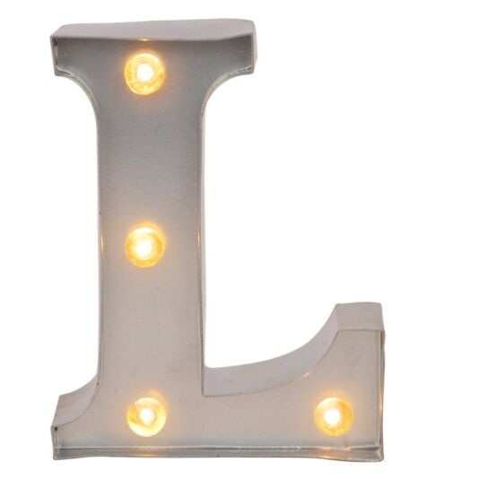 Mini Light Up Letters – L