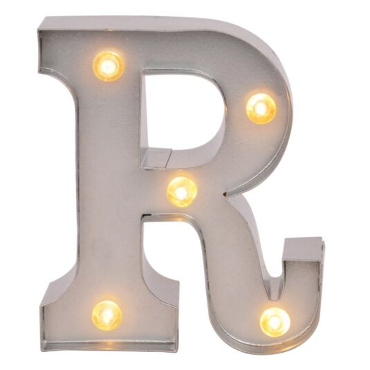 Mini Light Up Letters – R
