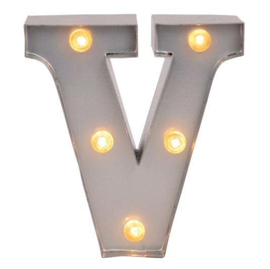 Mini Light Up Letters – V