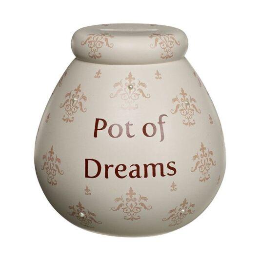 Vanilla Fleur de Lys Money Pot