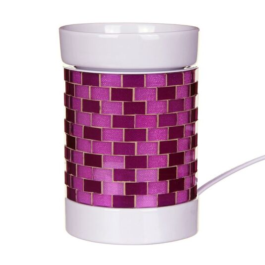 Purple Glitter Glow Electric Melt Warmer