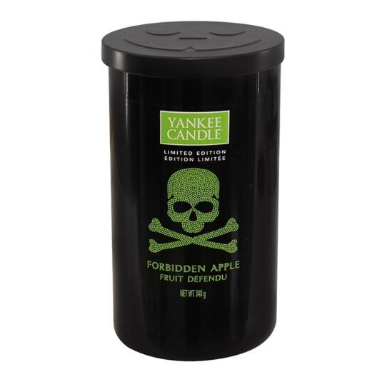 Halloween Forbidden Apple Medium Pillar Candle