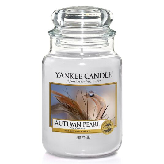 Autumn Pearl Large Jar Candle