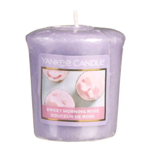 Sunday Brunch Sweet Morning Rose Votive Candle