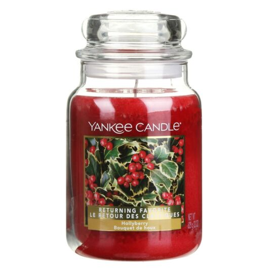 Limited Edition Hollyberry Large Jar Candle